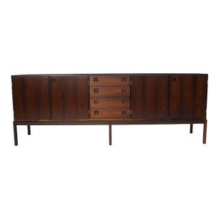 Johannes Andersen Brazilian Rosewood Danish Sideboard, circa 1964