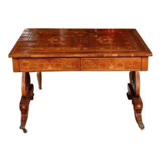 Inlaid, English Table