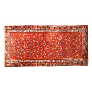 "Antique Hamadan Rug Runner - 2'11"" x 5'10"""