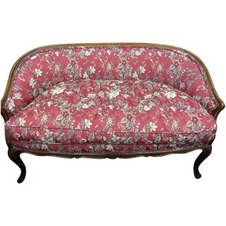 Early 20th-Century French Settee