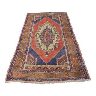 """Traditional Handmade Antique Area Carpet - 51"""" x 92"""""""