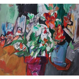 Modern Abstract Expressionist Still Life Painting