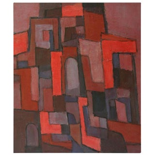 Donald Deskey Abstract Painting