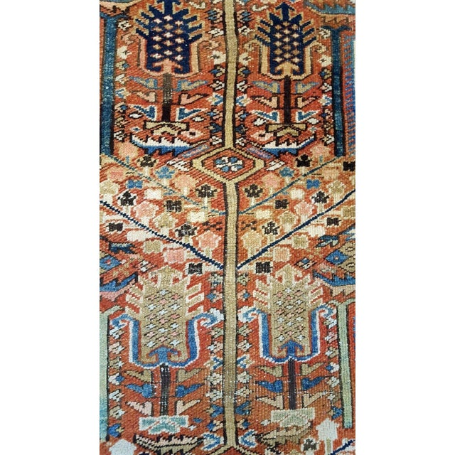 Antique Islamic Heriz Persian Rug - 9′ × 12′ - Image 6 of 10