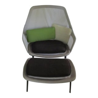 Ronan & Erwan Bouroullec for Vitra Chair & Ottoman