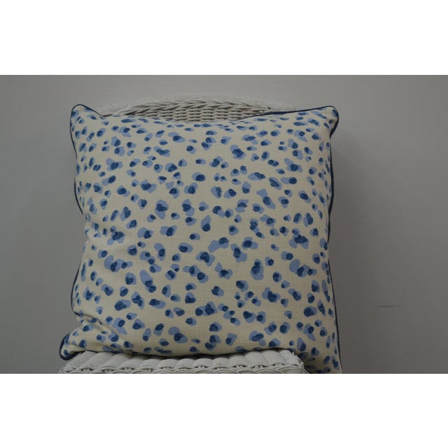 Blue & White Summer Pillows - A Pair - Image 2 of 5