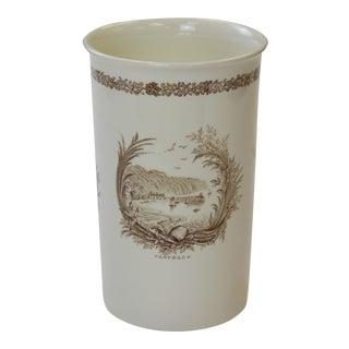 Rex Whistler Wedgwood Porcelain Vase