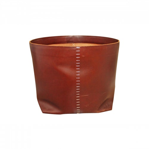 Barneys New York Arte & Cuoio Teso Leather Basket - Image 1 of 7