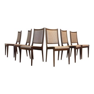 Karl Erik Ekselius for JOC Rosewood Dining Chairs- Set of 6