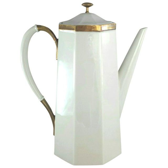 Geometric Octagonal Coffee Pot - Image 1 of 9