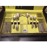 Image of Alvin Silverplate Flatware Set - 50 Pcs