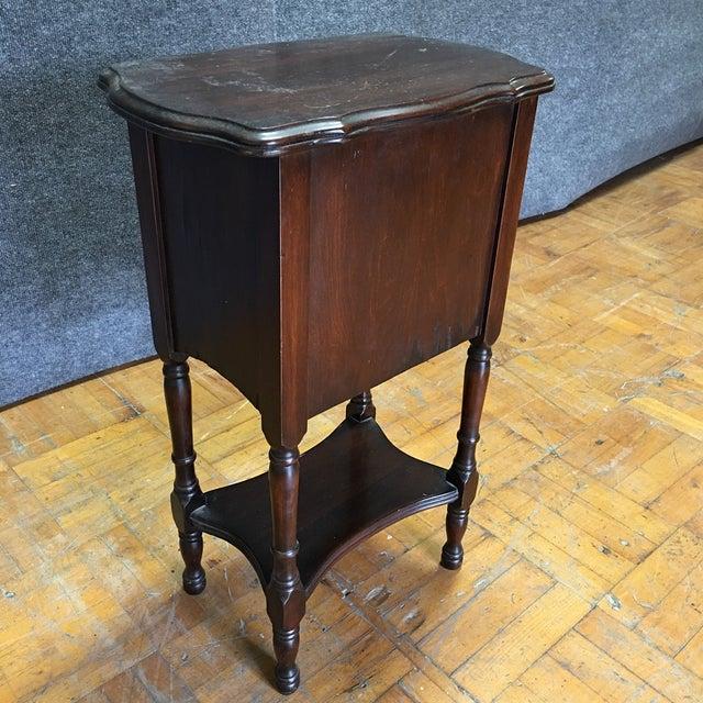 Vintage Antique Side Cabinet Table - Image 7 of 7