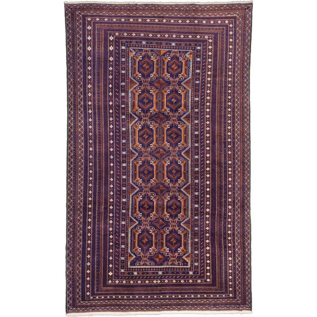 "Image of Rizbaft Tribal Afghan Rug - 8'0"" X 13'0"""