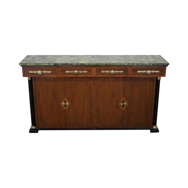 Image of Bethlehem Furniture Regency Style Console Credenza