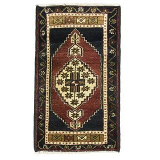 "Vintage Kurdish Carpet - 1'10"" x 3'2"""