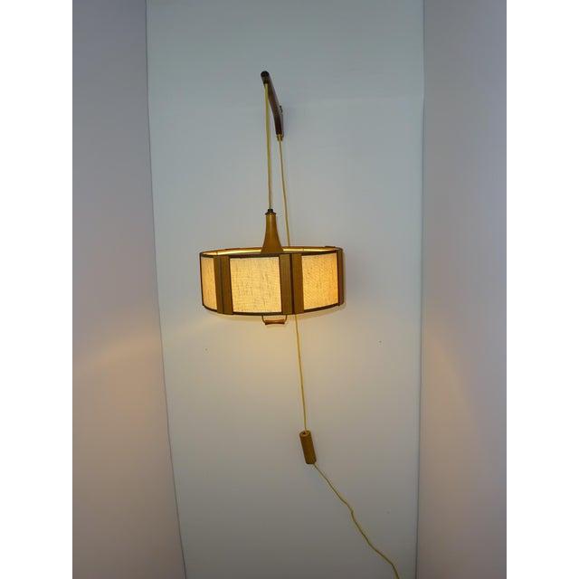 Danish Modern Gerald Thurston Adjustable Wall Lamp - Image 6 of 9