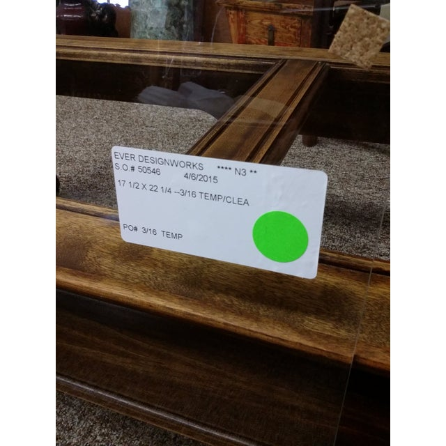 Mid-Century Chinese Classic Wood Coffee Table - Image 7 of 7