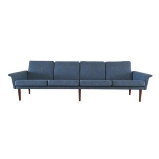 Vintage Danish Mid-Century Modern Sofa