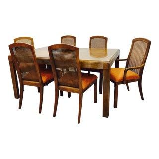 Vintage Mid-Century Modern Dining Set - Set of 7
