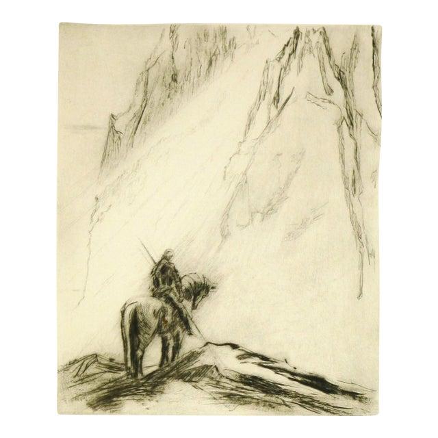 Original Etching Parsifal - Image 1 of 4