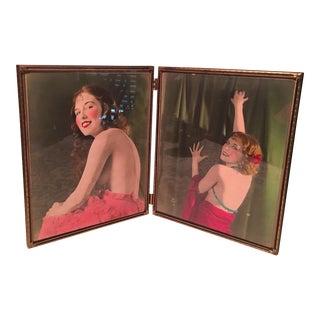 1920s Silent Movie Actress Original Photographs- Set of 2