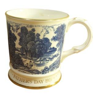 Vintage 1977 Father's Day, the Anglers Coalport Bone China Coffee Mug