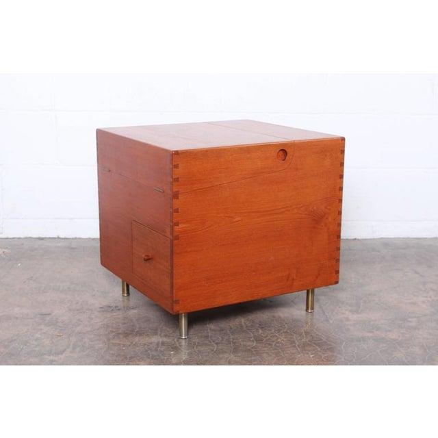 Hans Wegner Teak Cube Bar - Image 2 of 10