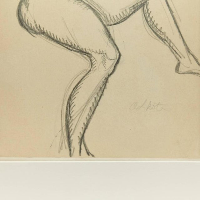 Andre Lhote Drawing in Pencil - Image 4 of 7