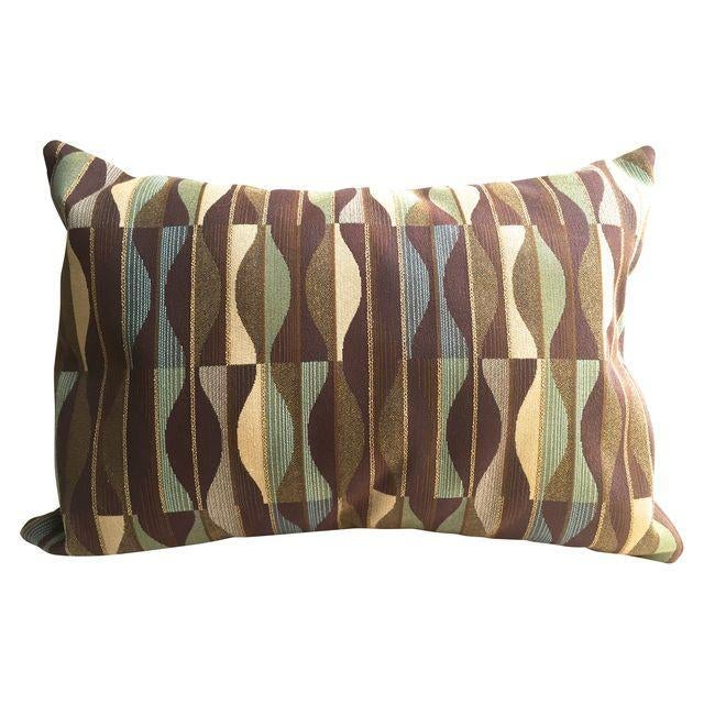Mid Century Throw Pillow : Mid-Century Designer Fabric Throw Pillow Chairish