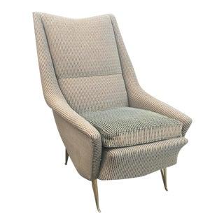 ISA Brass Armchair