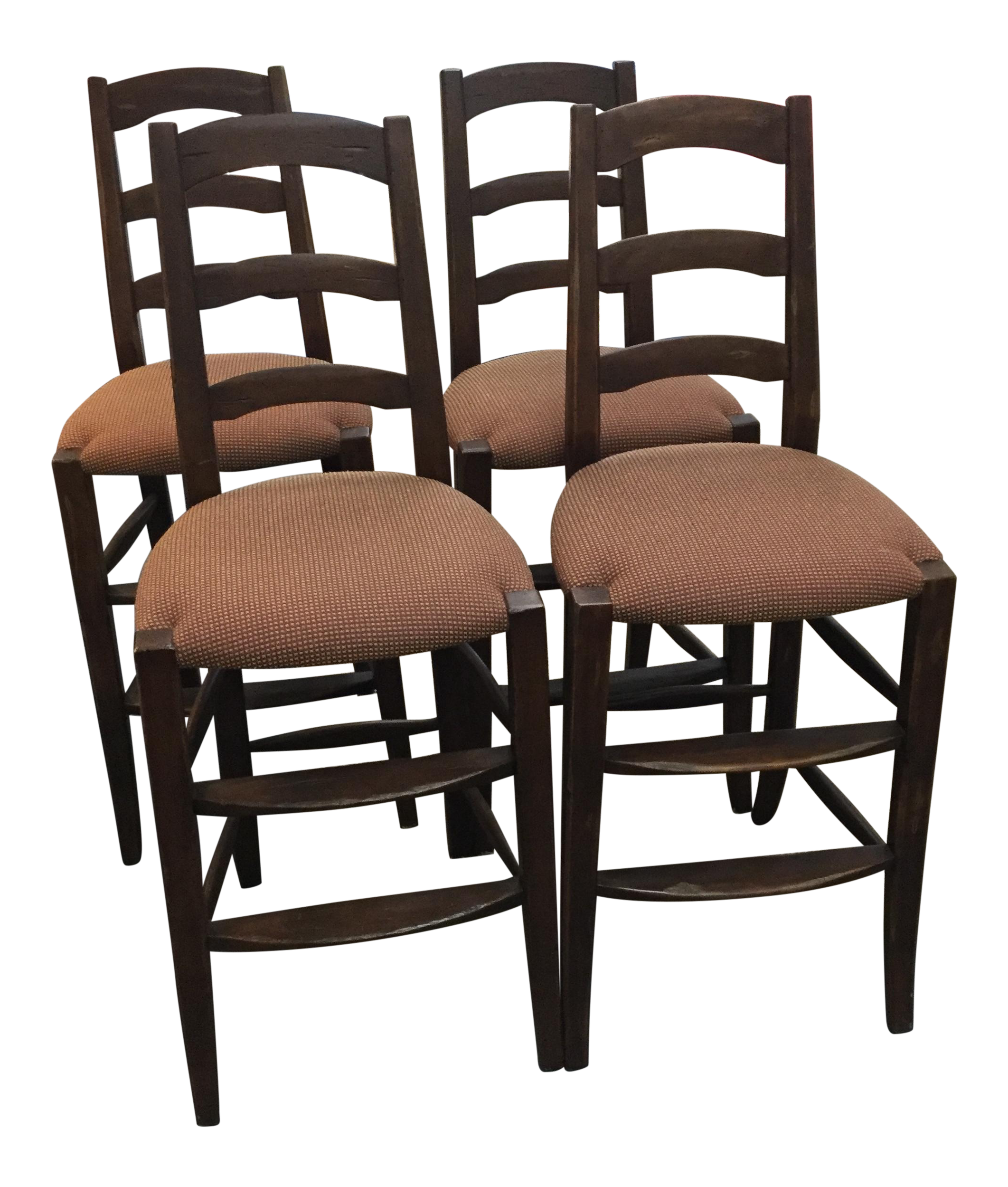Minton Spidell Bar Stools Set Of 4 Chairish