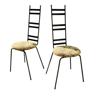 Garden Chairs in the Manner of Umanoff - a Pair