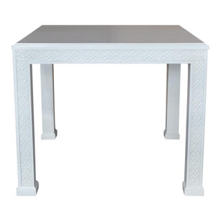 Large Chippendale-Style Fretwork Side Table