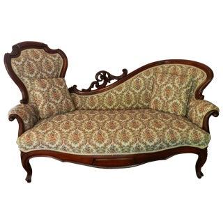 1880 Victorian Rococo Revival Lounge