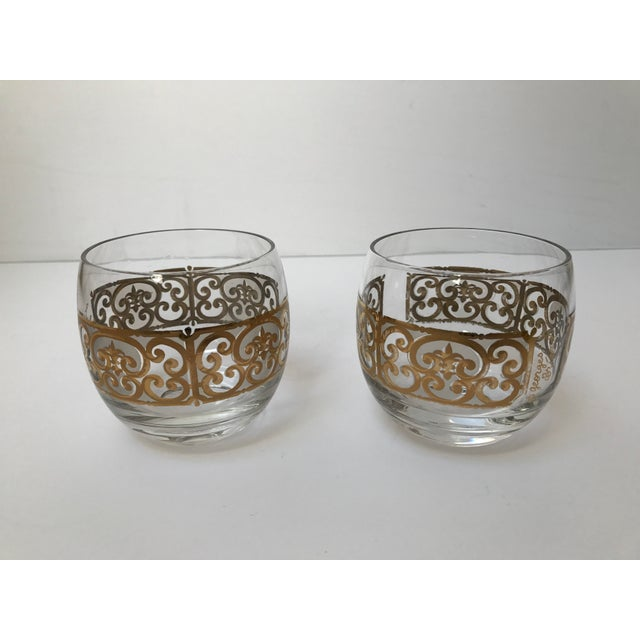 Georges Briard Roly Poly Filligree Glasses -- A Pair - Image 5 of 5