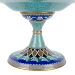 Image of Vintage Cloisonne Pedestal Compote