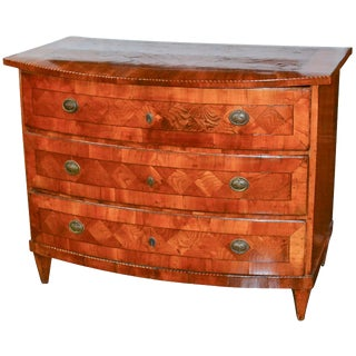 Early 19th Century French Inlaid Commode
