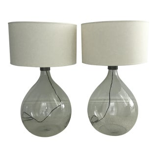 Restoration Hardware French Magnum Lamps - A Pair