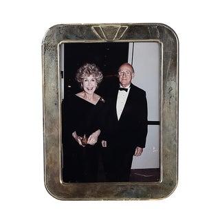 Vintage Art Deco Sterling Framed Betsy & Alfred Bloomingdale Photograph