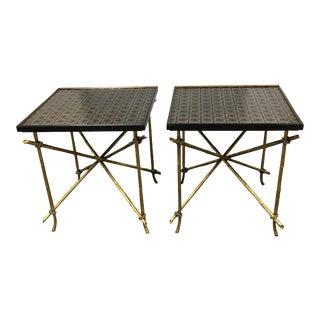 Dessin Fournir Side Tables - Pair