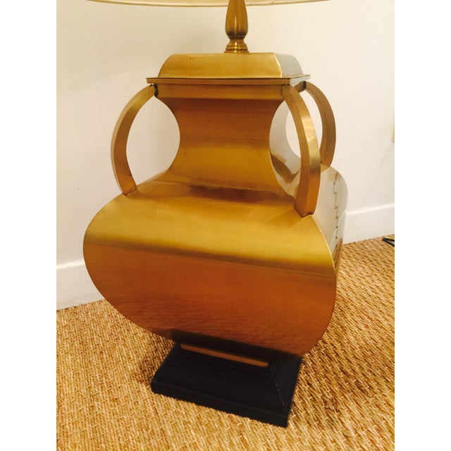 Brass Four-Handle Genie Lamp - Image 8 of 8