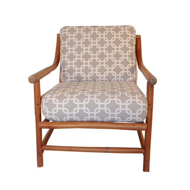 Ritts Tropitan Bamboo Lounge Chair - Image 1 of 6
