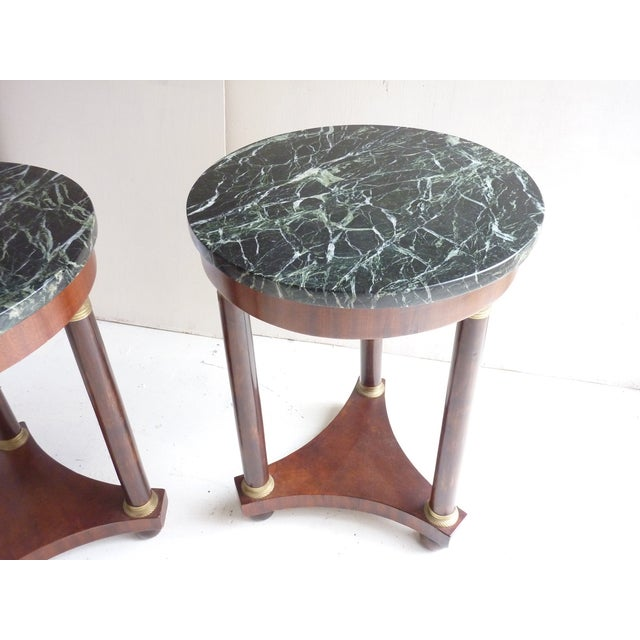 French Empire-Style Side Tables - A Pair - Image 5 of 7