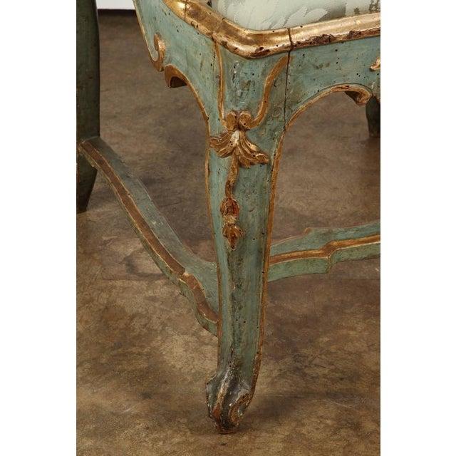 Fine Venetian Rococo Arm Chair - Image 6 of 9