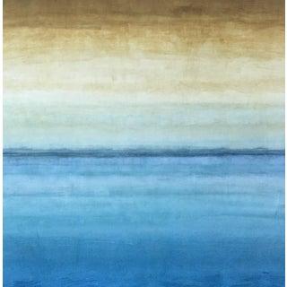 Ocean Dawn Abstract Print in Panel Box