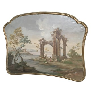 Extra Large Antique Framed Italian Painting
