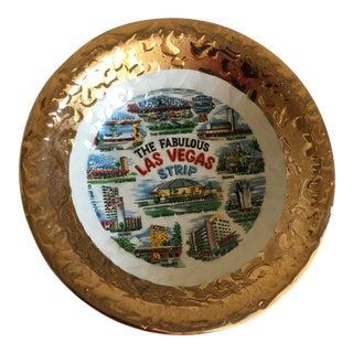 Vintage Las Vegas Souvenir Trinket Tray