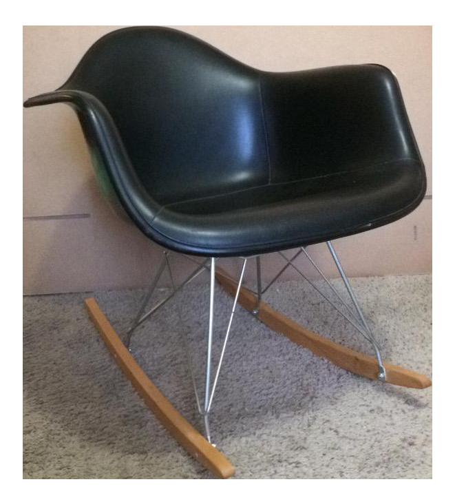 High Quality Herman Miller Eames Fiberglass Rocking Chair   Image 1 Of 10