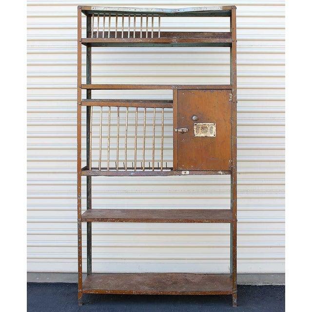 Vintage Brown Iron Rack - Image 2 of 5