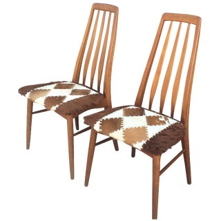 Koefoeds Hornslet Dining Chairs - A Pair